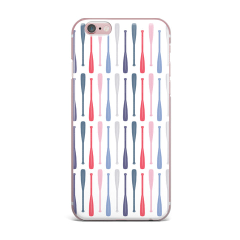 "Afe Images ""Canoe Paddles"" Multicolor Digital Illustration iPhone Case"