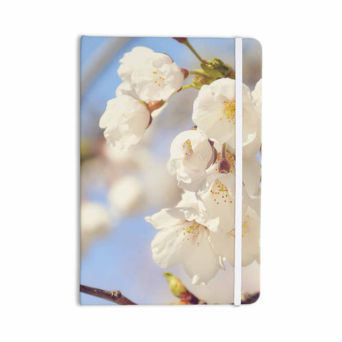 "AFE Images ""Cherry Blossoms"" Multicolor Blue Photography Everything Notebook"