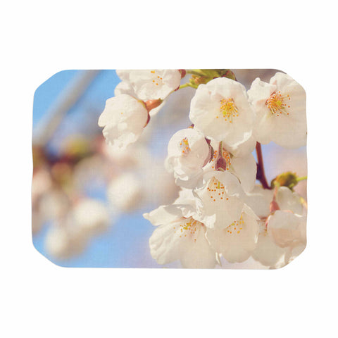"AFE Images ""Cherry Blossoms"" Multicolor Blue Photography Place Mat"