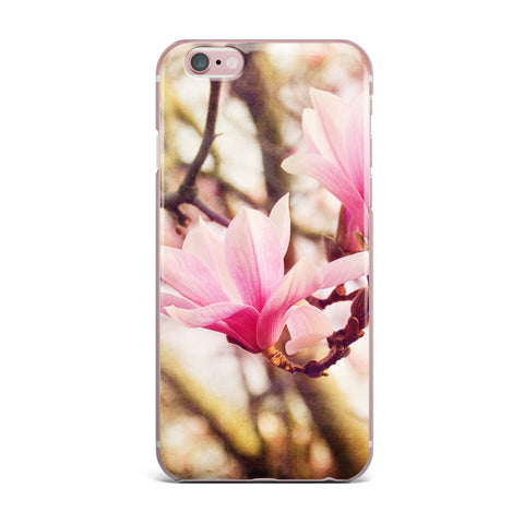 "AFE Images ""Magnolias"" Pink Brown Photography iPhone Case"