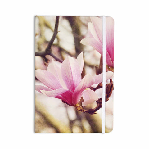 "AFE Images ""Magnolias"" Pink Brown Photography Everything Notebook"