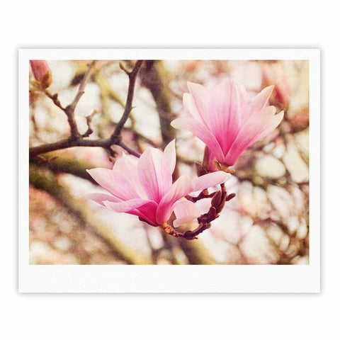 "AFE Images ""Magnolias"" Pink Brown Photography Fine Art Gallery Print"