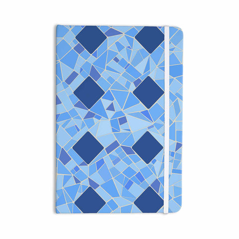 "Afe Images ""Abstract Mosaic Pattern2"" Blue Teal Digital Everything Notebook"