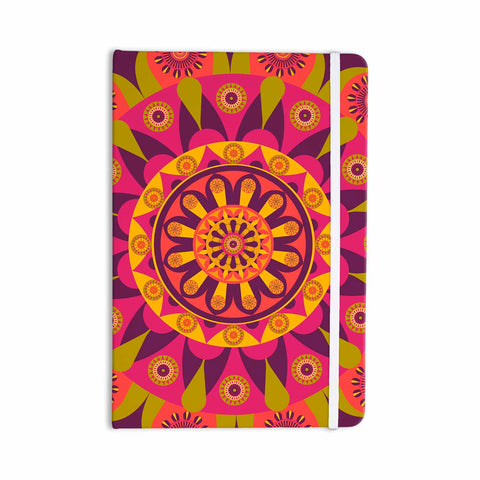 "afe images ""Mandala Design"" Multicolor Modern Ethnic Digital Illustration Everything Notebook"