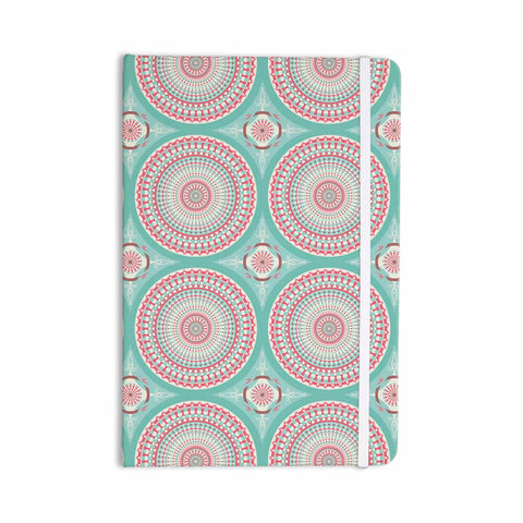 "afe images ""Mandala Pattern2"" Green Multicolor Ethnic Pattern Illustration Digital Everything Notebook"