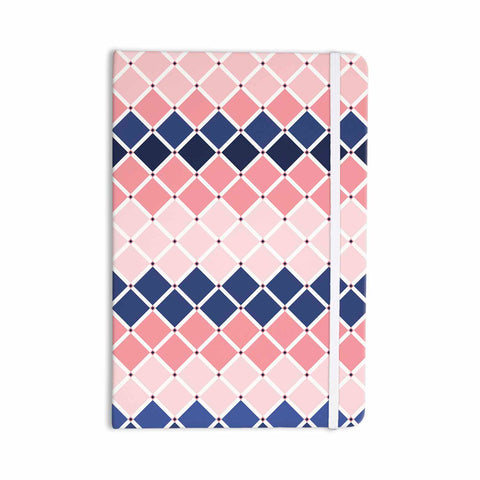 "afe images ""Diamond Tiles"" Pink Blue Diamond Pattern Illustration Digital Everything Notebook"