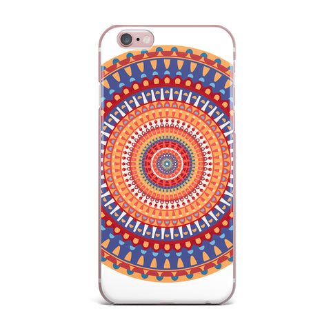 "afe images ""AFE Mandala4"" Multicolor Ethnic Abstract Illustration Digital iPhone Case"