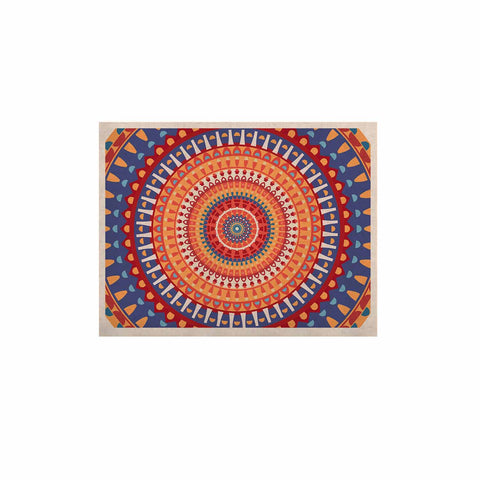 "afe images ""AFE Mandala4"" Multicolor Ethnic Abstract Illustration Digital KESS Naturals Canvas (Frame not Included)"