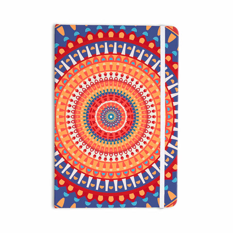 "afe images ""AFE Mandala4"" Multicolor Ethnic Abstract Illustration Digital Everything Notebook"
