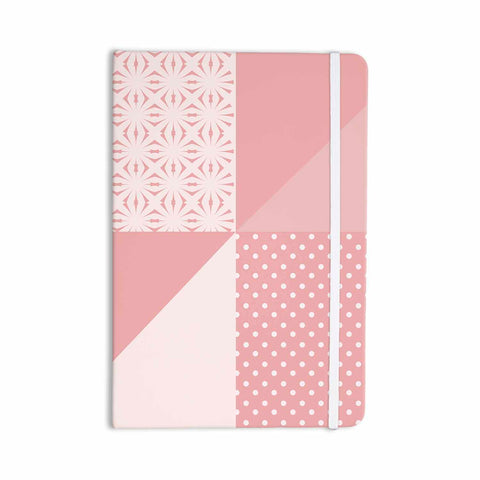 "afe images ""AFE Abstract2"" Coral Pink Abstract Pattern Digital Illustration Everything Notebook"