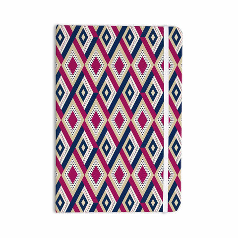 "afe images ""AFE Diamond Pattern"" Multicolor Diamond Pattern Digital Illustration Everything Notebook"