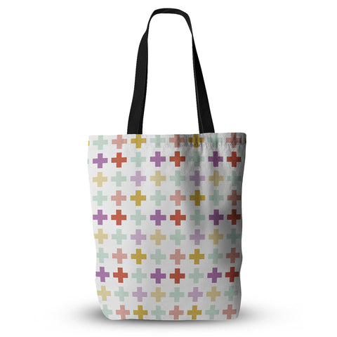 "Pellerina Design ""Mint Orchid Plus"" Tote Bag - Outlet Item"