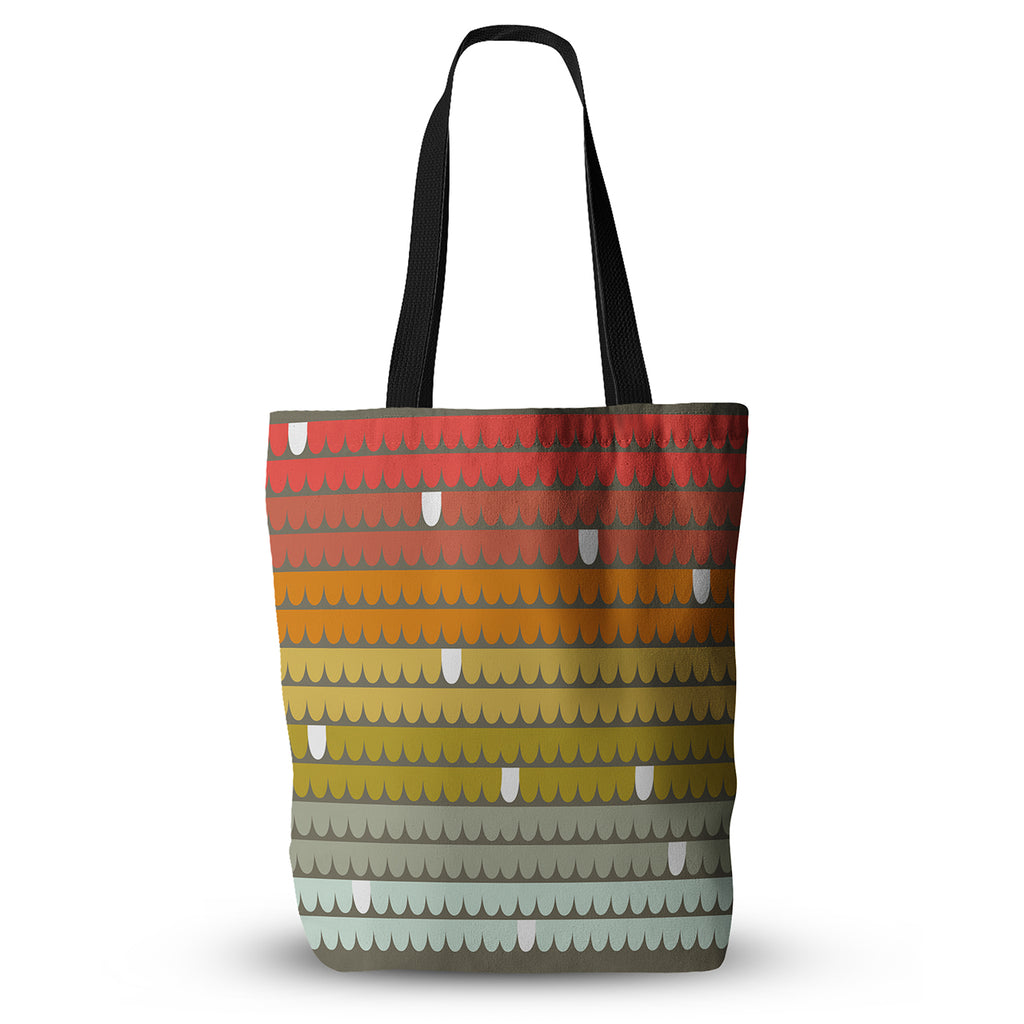 "Pellerina Design ""Rainbow Scallops"" Tote Bag - Outlet Item"