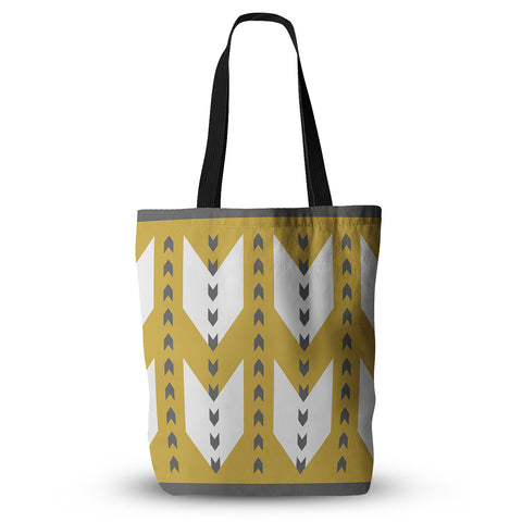 "Pellerina Design ""Golden Aztec"" Tote Bag - Outlet Item"