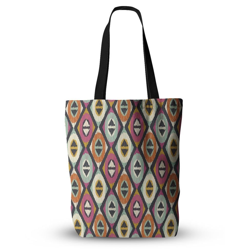 "Amanda Lane ""Sequoyah Diamonds"" Everything Tote Bag - KESS InHouse  - 1"