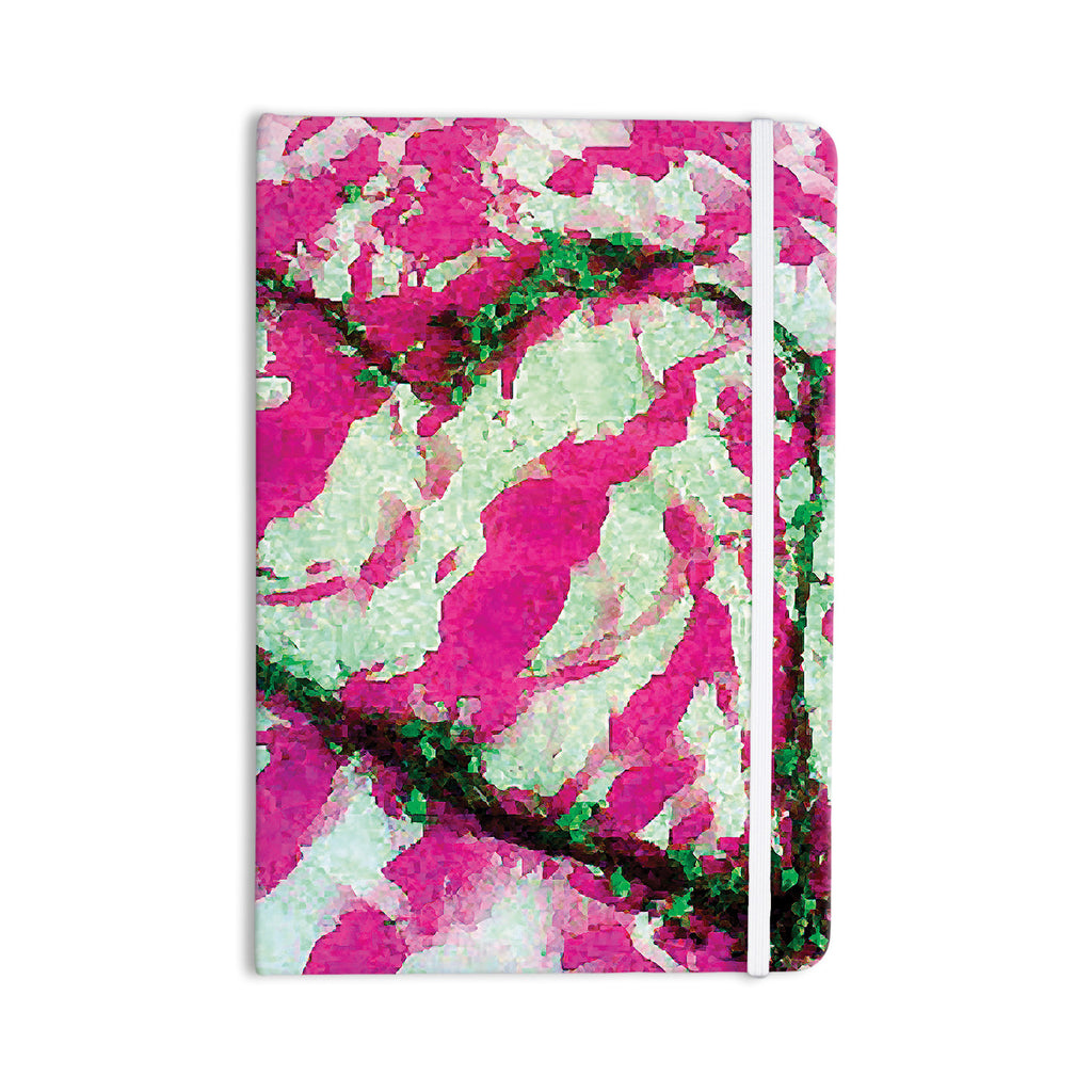"Anne LaBrie ""Pink Tiger Love"" Pink Green Everything Notebook - KESS InHouse  - 1"