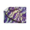 "Anne LaBrie ""Purple Tiger Love"" Purple Yellow Sherpa Blanket - KESS InHouse  - 1"