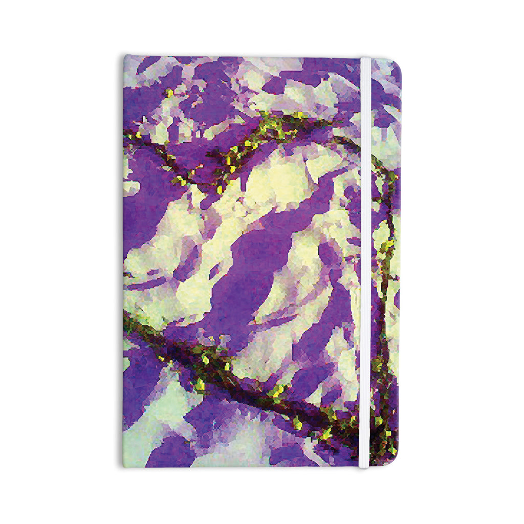 "Anne LaBrie ""Purple Tiger Love"" Purple Yellow Everything Notebook - KESS InHouse  - 1"