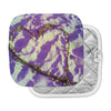 "Anne LaBrie ""Purple Tiger Love"" Purple Yellow Pot Holder"