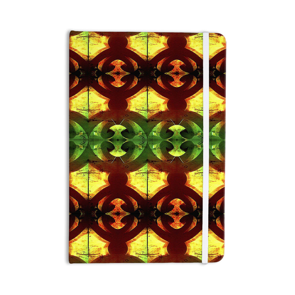 "Anne LaBrie ""Tribal Marsala"" Red Yellow Everything Notebook - KESS InHouse  - 1"