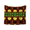 "Anne LaBrie ""Tribal Marsala"" Red Yellow Wall Tapestry - KESS InHouse  - 1"
