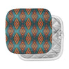 "Anne LaBrie ""Diamond Sea"" Blue Orange Pot Holder"