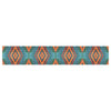 "Anne LaBrie ""Diamond Sea"" Blue Orange Table Runner - KESS InHouse  - 1"