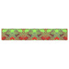 "Anne LaBrie ""Mystic Flow"" Green Red Table Runner - KESS InHouse  - 1"