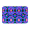 "Anne LaBrie ""Dark Diamond"" Purple Blue Memory Foam Bath Mat - KESS InHouse"