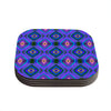 "Anne LaBrie ""Dark Diamond"" Purple Blue Coasters (Set of 4)"