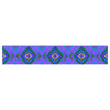 "Anne LaBrie ""Dark Diamond"" Purple Blue Table Runner - KESS InHouse  - 1"