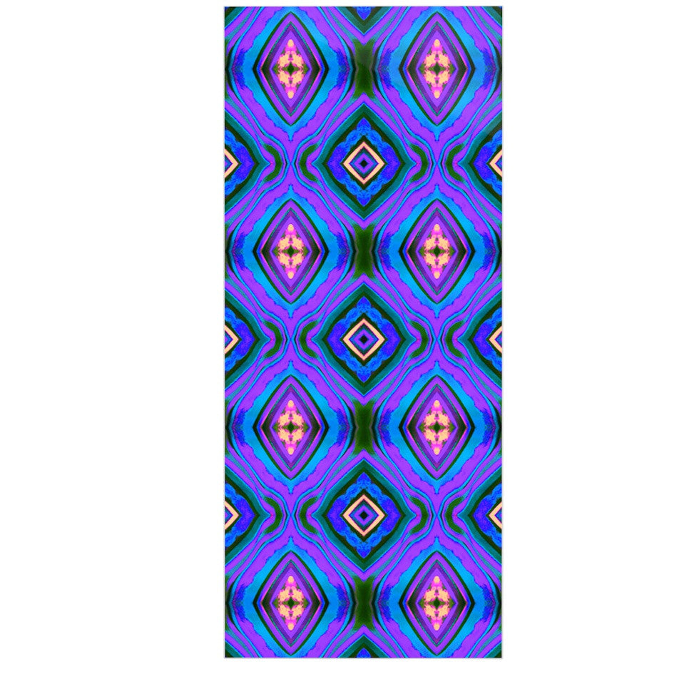 "Anne LaBrie ""Dark Diamond"" Purple Blue Luxe Rectangle Panel - KESS InHouse  - 1"