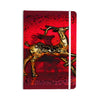 "Anne LaBrie ""Dash On"" Red Gold Everything Notebook - KESS InHouse  - 1"