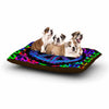 "Anne LaBrie ""Heavenly Peace"" Blue Digital Dog Bed - KESS InHouse  - 1"