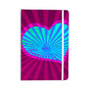 "Anne LaBrie ""Love Light"" Blue Modern Everything Notebook - KESS InHouse  - 1"