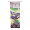 "alyZen Moonshadow ""Mad Hatters T-Party II"" Pink Green Decorative Sheer Curtains - KESS InHouse"