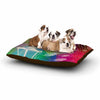 "alyZen Moonshadow ""ESCAPE"" Purple Multicolor Dog Bed - KESS InHouse  - 1"