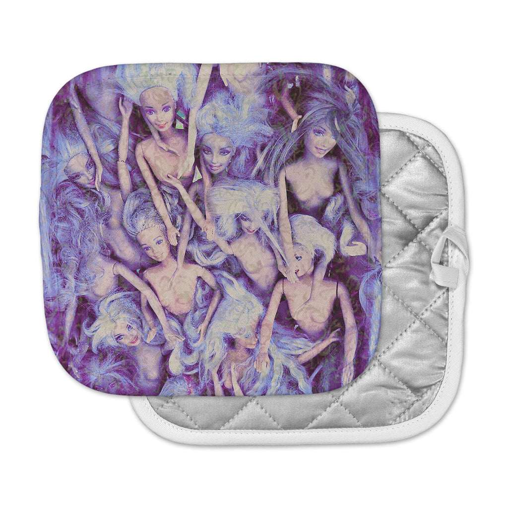 "AlyZen Moonshadow ""WILD THINGS"" Purple Barbie Pot Holder"