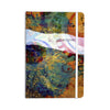 "AlyZen Moonshadow ""DISCOVER 3"" Orange Teal Everything Notebook - KESS InHouse  - 1"