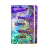 "AlyZen Moonshadow ""ARCANE 2"" Purple Blue Everything Notebook - KESS InHouse  - 1"