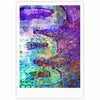 "AlyZen Moonshadow ""ARCANE 2"" Purple Blue Fine Art Gallery Print - KESS InHouse"