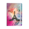 "alyZen Moonshadow ""Eiffel Tower (Deep Pink)"" Pink France Everything Notebook - KESS InHouse  - 1"
