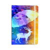 "alyZen Moonshadow ""Rain Deer"" Yellow Blue Everything Notebook - KESS InHouse  - 1"