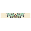 "Art Love Passion ""Butterfly"" Brown Multicolor Table Runner - KESS InHouse  - 1"