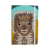 "Art Love Passion ""Squirrel"" Teal Brown Everything Notebook - KESS InHouse  - 1"
