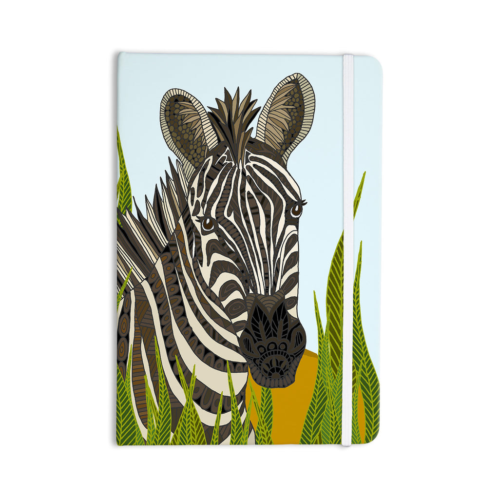 "Art Love Passion ""Zebra"" Black White Everything Notebook - KESS InHouse  - 1"