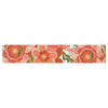 "Art Love Passion ""Flower Power"" Red Floral Table Runner - KESS InHouse  - 1"