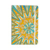 "Art Love Passion ""Here Comes The Sun"" Blue Yellow Everything Notebook - KESS InHouse  - 1"