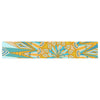 "Art Love Passion ""Here Comes The Sun"" Blue Yellow Table Runner - KESS InHouse  - 1"