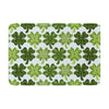 "Art Love Passion ""Lucky You"" Green Shamrock Memory Foam Bath Mat - KESS InHouse"